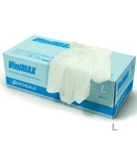 Vinimax, Перчатки виниловые неопудренные (50 пар в упаковке), размер L