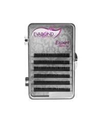 EVABOND, Ресницы на ленте Expert, 6 линий, Ø0,10 D-изгиб, 11 мм.