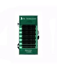 Ресницы на ленте TNL 0,12 (в упаковке № 7,9,11,13,15) D-изгиб