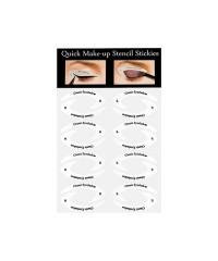 Наклейки-шаблоны для макияжа глаз H025-3, 32 пары