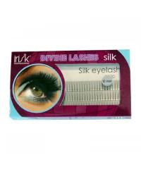 Пучки для наращивания ресниц без узелков «IRISK», 2 волоска, шелк. №12