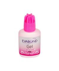 EVABOND, Гелевый ремувер для снятия искусственных ресниц, (розовый) 15гр