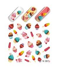 Слайдер-дизайн Пирожные N387