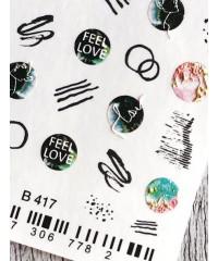 Слайдер FEEL LOVE 3D B417