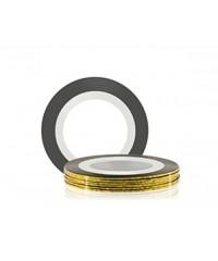 Лента для дизайна ногтей (золото)