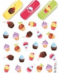 Слайдер Пирожные N921