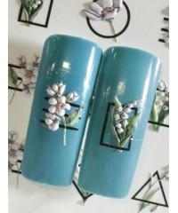 3D слайдер цветы B90