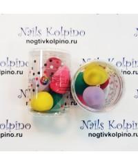 Набор спонжиков яйцо 5 шт