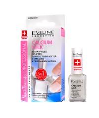 CALCIUM MILK Увлажняющее средство для укрепления ногтей с кальцием и протеинами молока