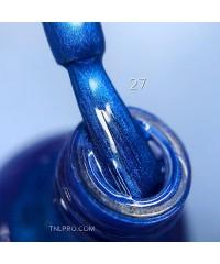Краска для стемпинга LUX №027 перламутровый синий