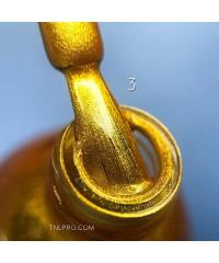 Краска для стемпинга LUX №003 сияющее золото