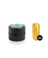 Гель-краска для стемпинга золотая №03