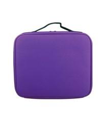 Кейс для маникюрных принадлежностей тканевый (Фиолетовый)