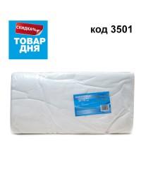 Полотенце малое белое 35*70 (50 шт в пачке) 3500